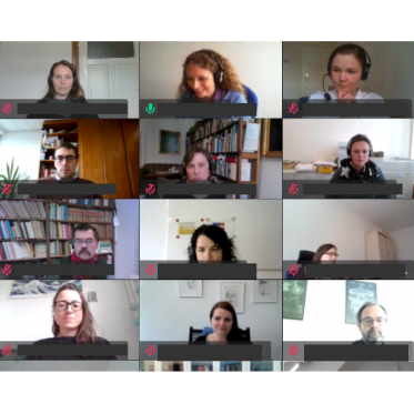 Teilnehmer*innen am Workshop im Mai 2021
