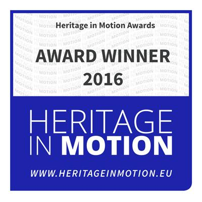 """Heritage in Motion""-Award"