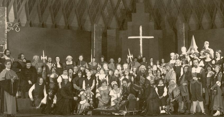 """Titelbild der Ausstellung """"Evangelische Bühnengilde Koblenz"""""""