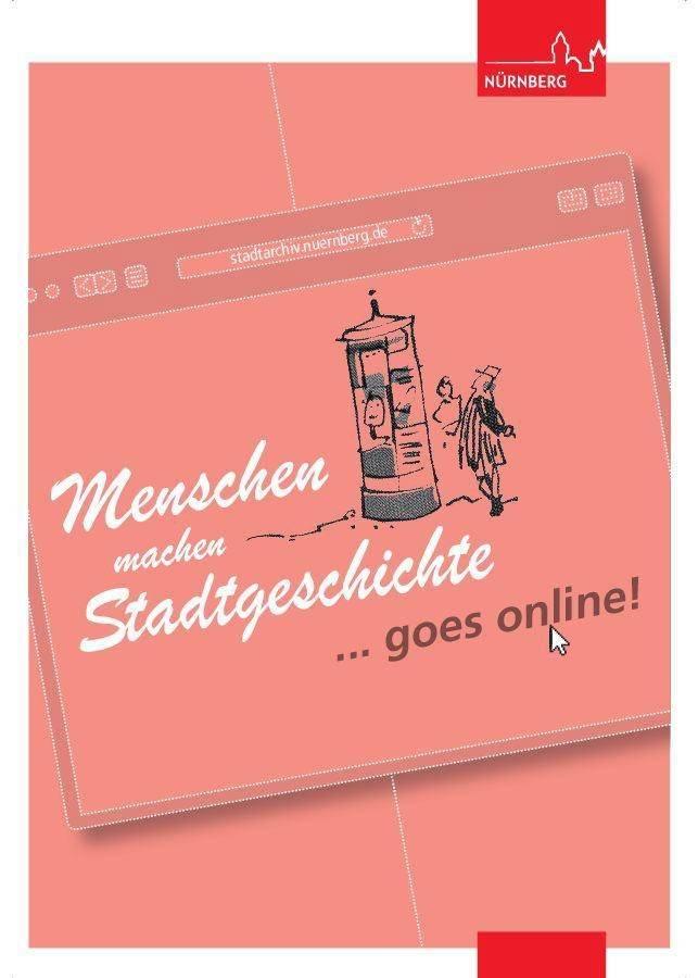"""Titelbild der Ausstellung """"Menschen machen Stadtgeschichte! ... goes online"""
