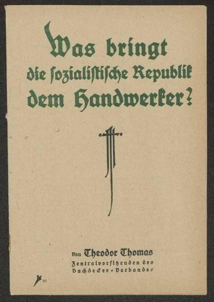 Titelblatt des Aufsatzes